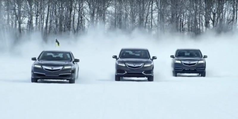 Acura Commercial: Acura All-Wheel Drive Performance