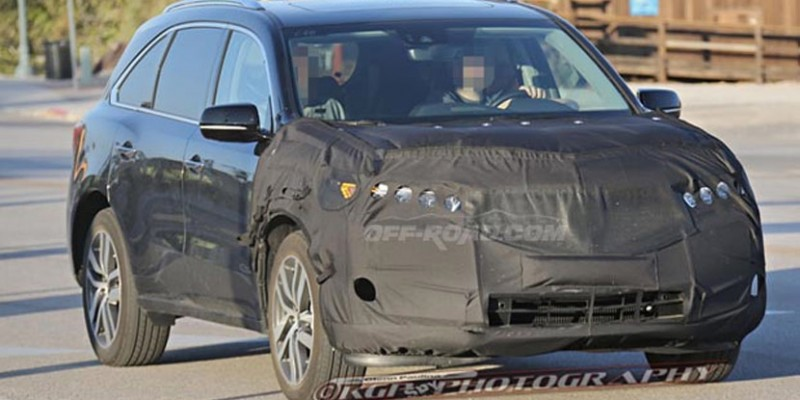 2018 acura rdx spy photos. Modren Acura Spied 2017 Acura MDX Prototype On 2018 Acura Rdx Spy Photos