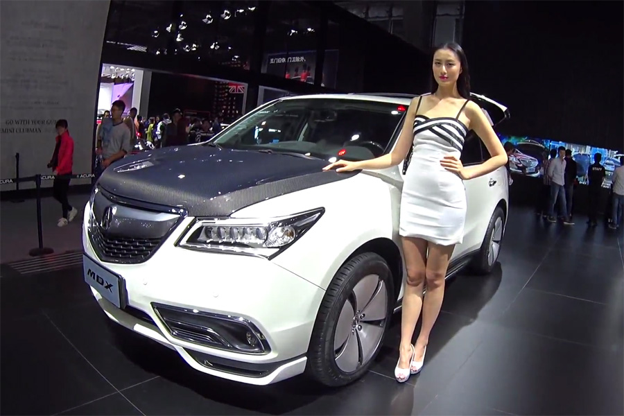 Acura China MDX With Carbon Fiber Hood And Accessories Acura - 2018 acura rdx accessories