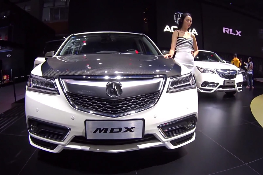 snapshots acura china s 2016 mdx with accessories acura connected. Black Bedroom Furniture Sets. Home Design Ideas
