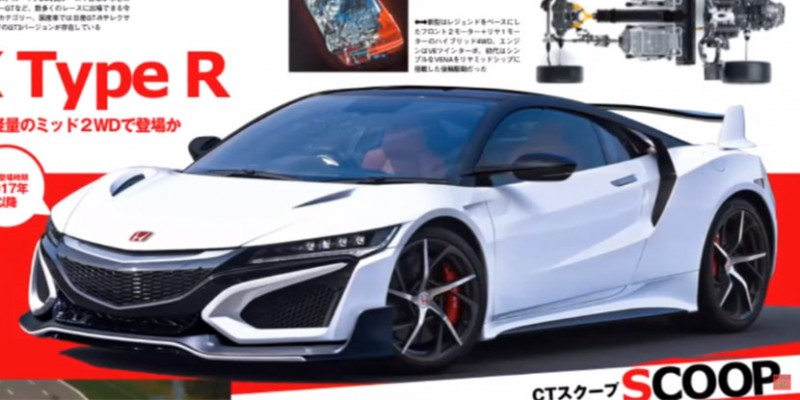2018 honda nsx type r. unique type rendered secondgeneration nsx typer for 2018 honda nsx type r x