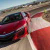 2017 Acura NSX in Valencia Red Pearl