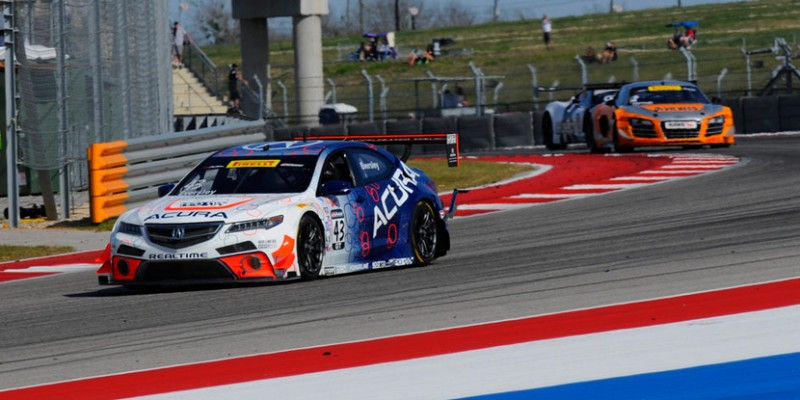 RealTime Racing's Ryan Eversley at the Circuit of the Americas