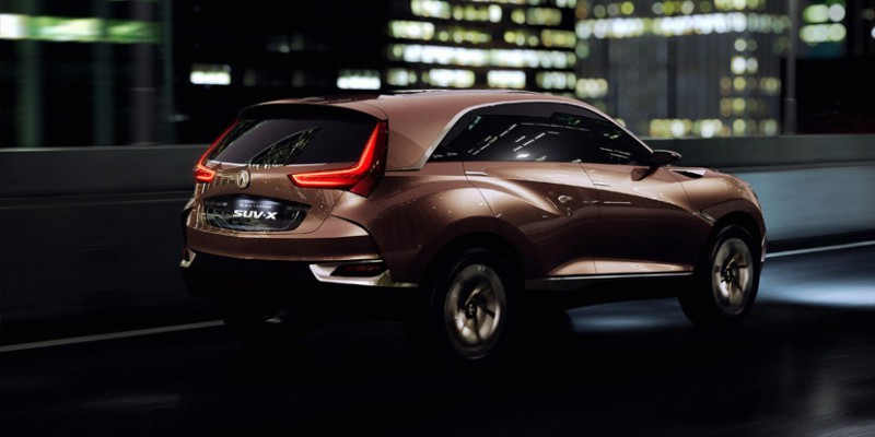 Acura To Unveil All New Compact Suv At Auto China 2016 Beijing