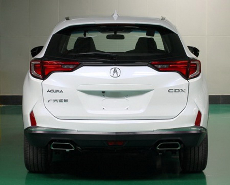 New Acura Compact SUV Leaked Before Beijing Debut – Acura Connected