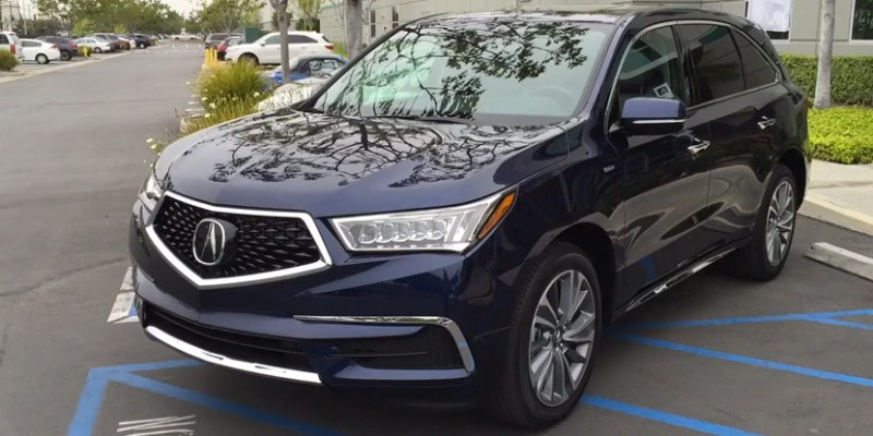 Video: 2017 Acura MDX Sport Hybrid in Fathom Blue Pearl – Acura Connected
