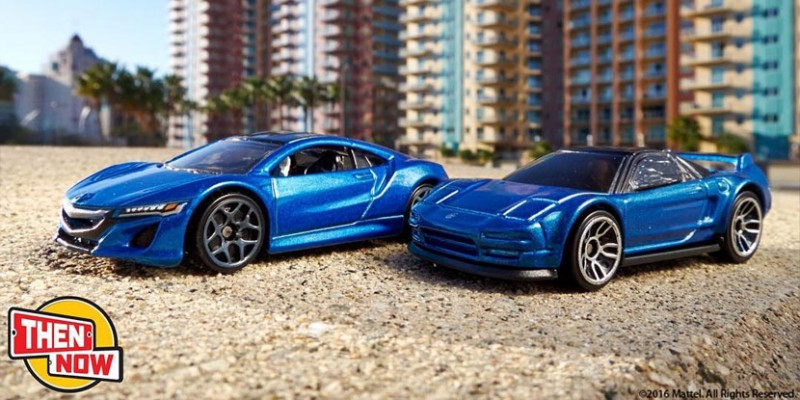 Hot Wheels Then and Now Series Acura NSX