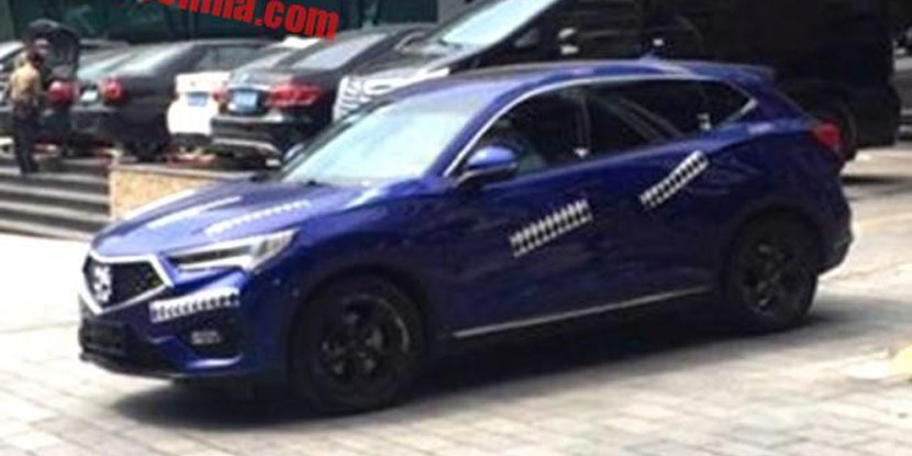 Acura CDX Prototype Spied in China