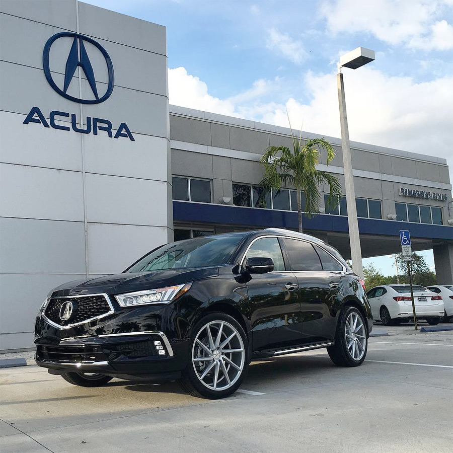 Snapshot Acura MDX On Vossen CVT Wheels Acura Connected - Tires for 2018 acura tl