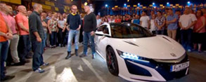 Video: 2017 NSX Featured on Top Gear UK
