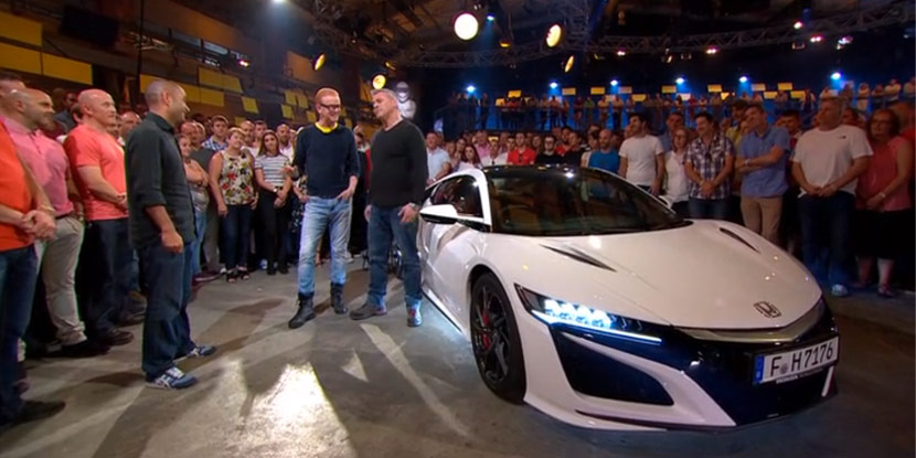 the stig drives the 2017 nsx top gear season 23 episode 6 acura connected. Black Bedroom Furniture Sets. Home Design Ideas