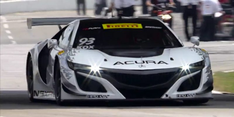 Acura NSX GT3 – Birth of a Race Car