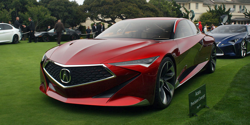 Snapshots: Acura Precision Concept at Pebble Beach Concours d'Elegance