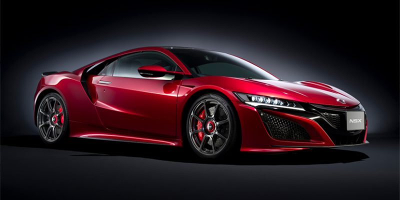 2017 Honda NSX with Modulo Accessory Wheels