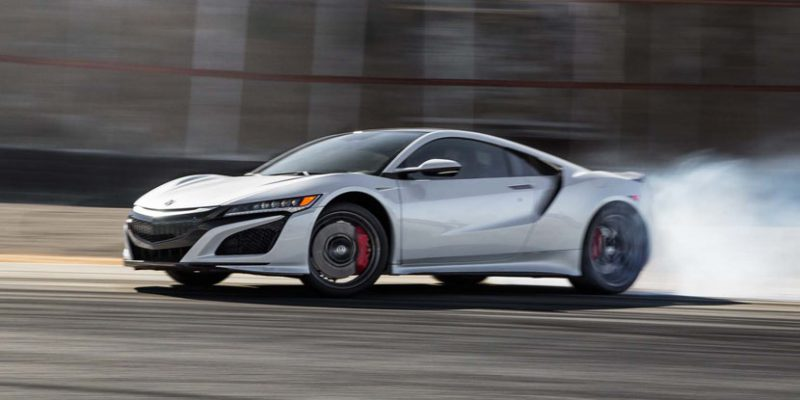2017 Acura NSX Hot Lap! Motor Trend Best Driver's Car Contender