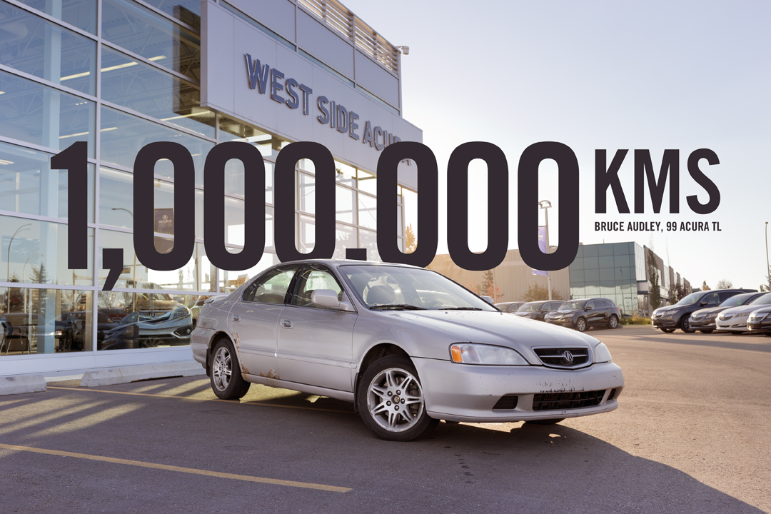 Bruce Audleys 1999 Acura TL Reaches 1000000 Kms
