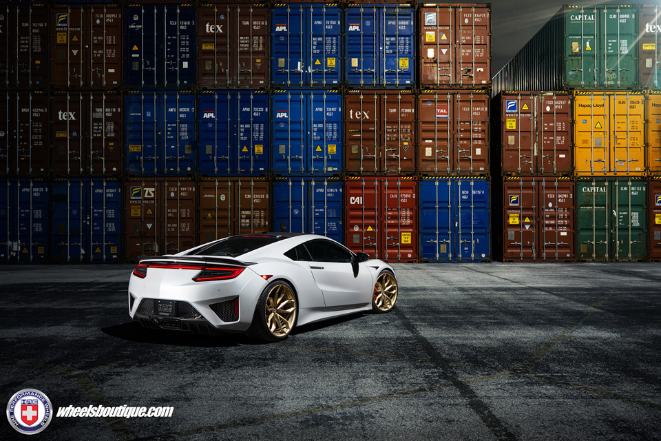 gallery 2017 acura nsx on hre p201 wheels acura connected