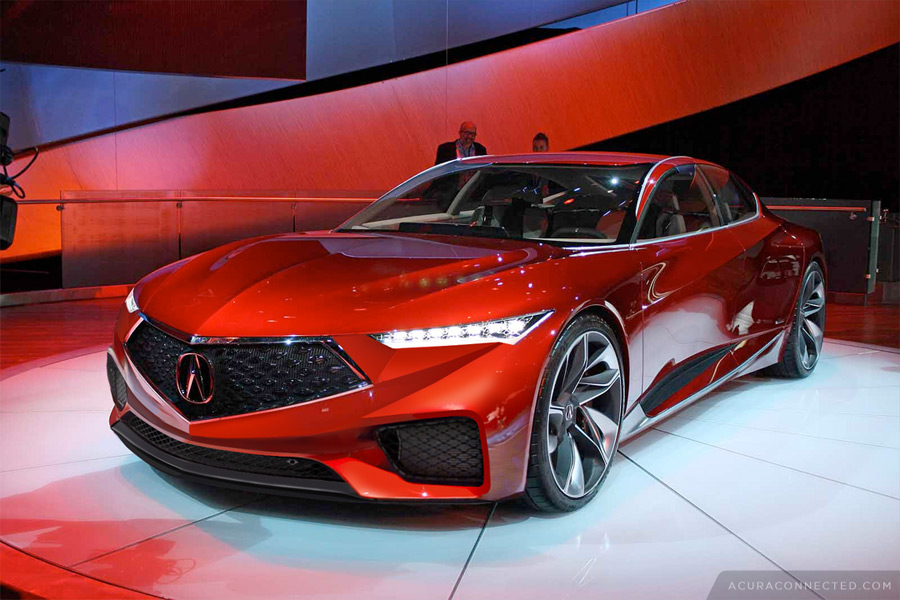 Updated Acura Precision Concept