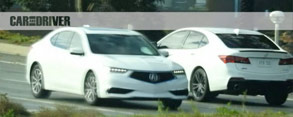 Spied: 2018 Acura TLX