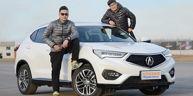 2016 Acura CDX 1.5T. Photo by pcauto.com.cn