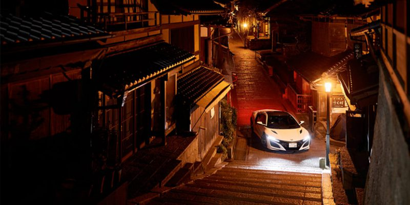 2017 NSX in Kyoto. Photo via Honda Japan.