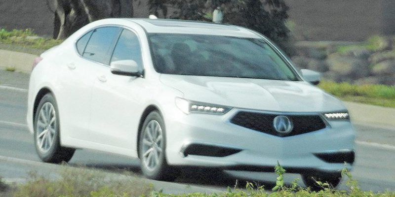 2018 TLX. Photo by BRIAN WILLIAMS/SPIEDBILDE via Automotive News