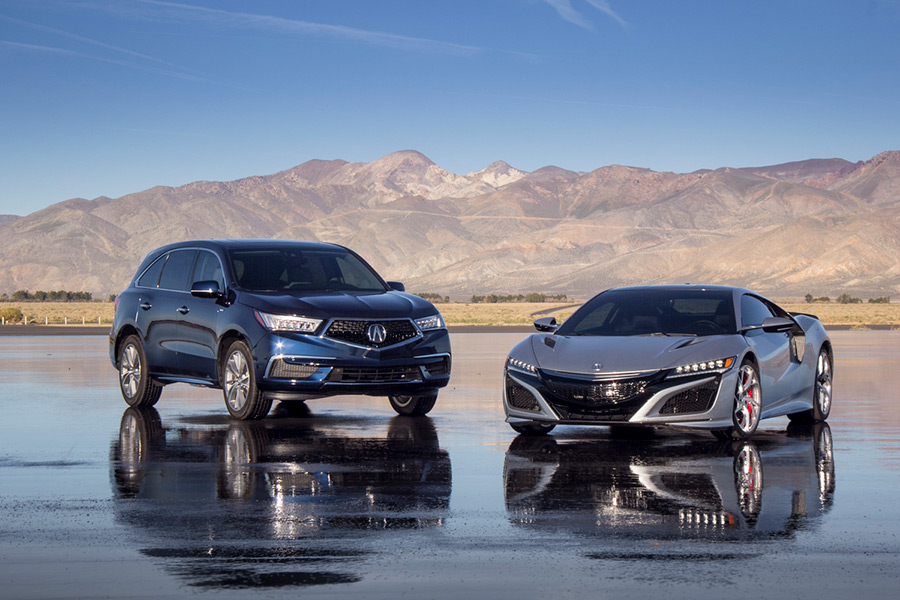 acura electrifies suv lineup with 2017 mdx sport hybrid acura connected. Black Bedroom Furniture Sets. Home Design Ideas
