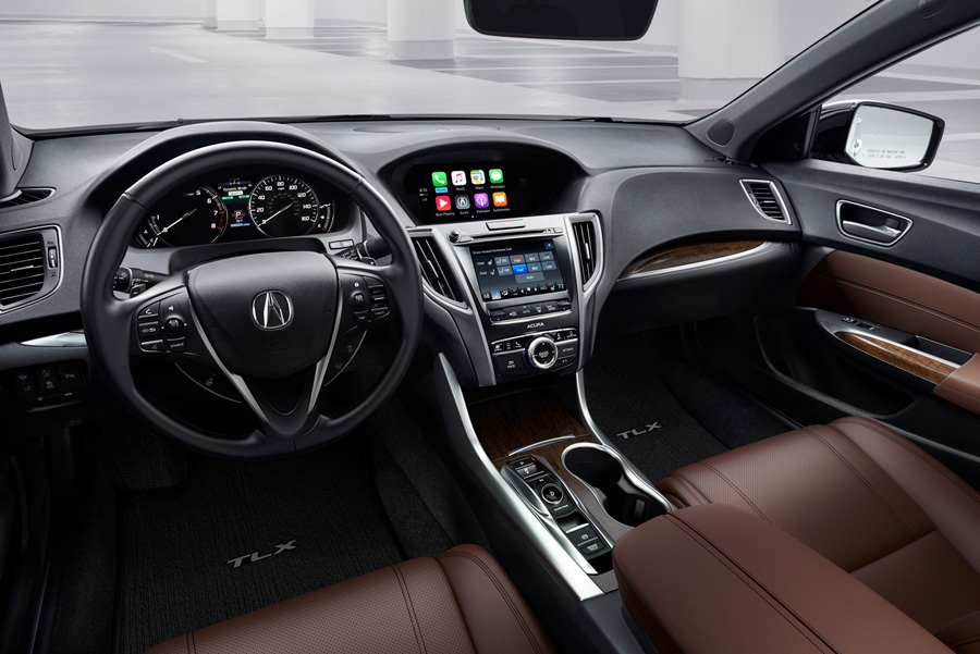 2018 acura tlx makes world debut acura connected. Black Bedroom Furniture Sets. Home Design Ideas