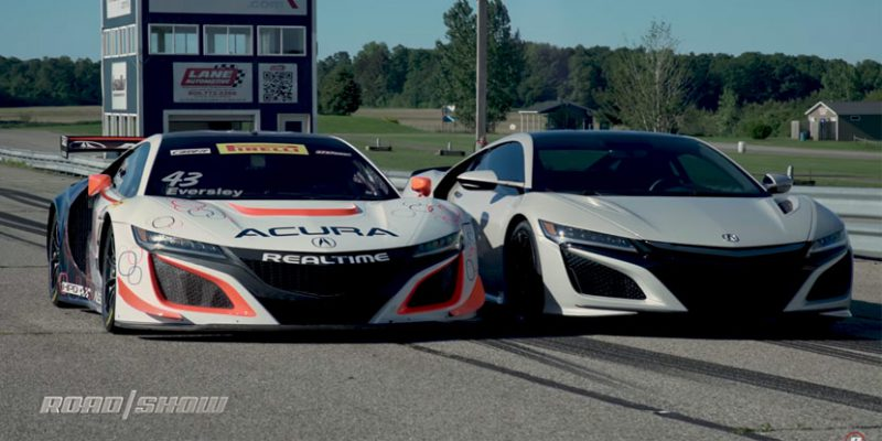 Behind the Wheel of the Acura NSX GT3