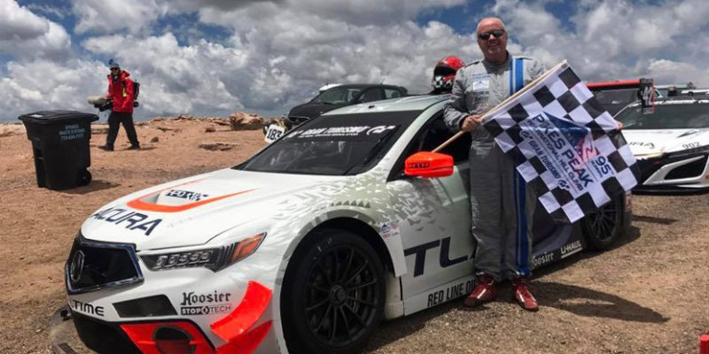 Peter Cunningham Takes First in Pikes Peak Open Class