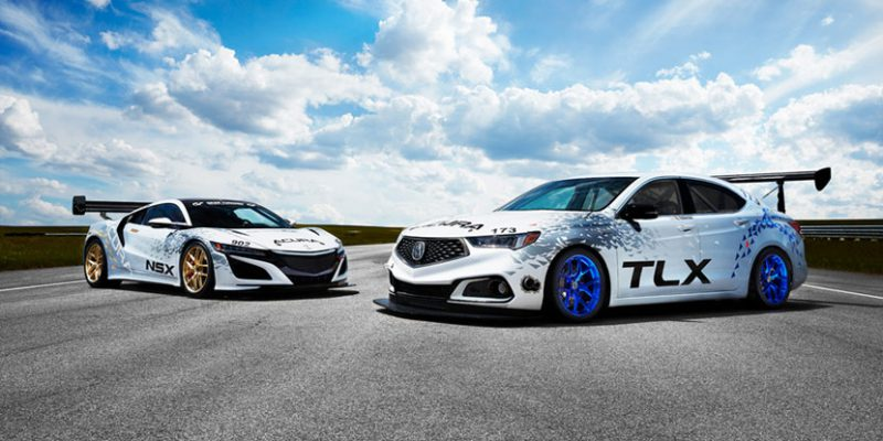 Acura NSX, TLX A-Spec to Compete at Pikes Peak