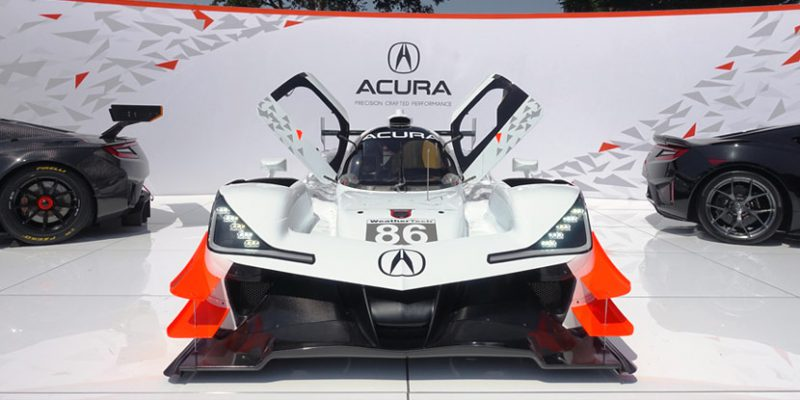 Acura ARX-05 at The Quail, A Motorsports Gathering | Photo by May Lee