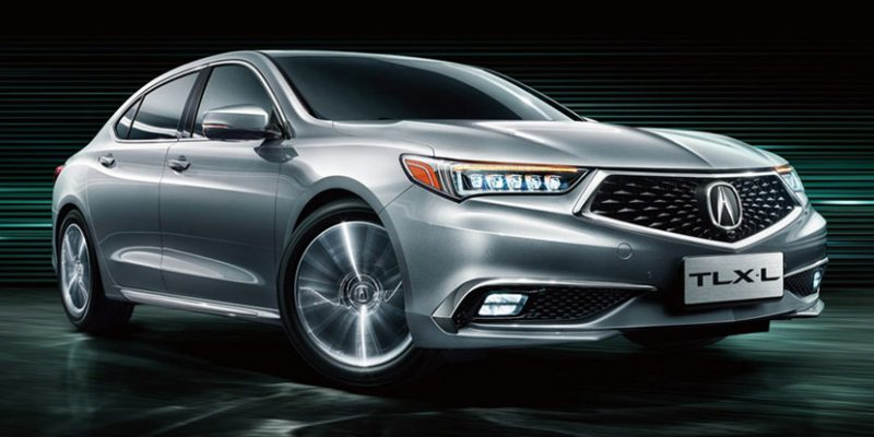 Production Acura TLX-L