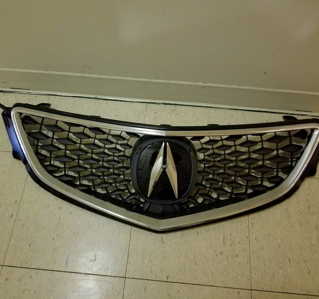 Custom Grilles For The Acura TLX Acura Connected - 2018 acura tsx grill replacement