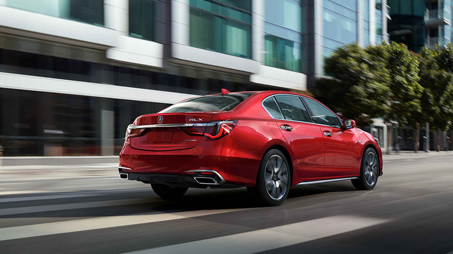 2018 Acura RLX Arrives in Showrooms with Striking Redesign ...