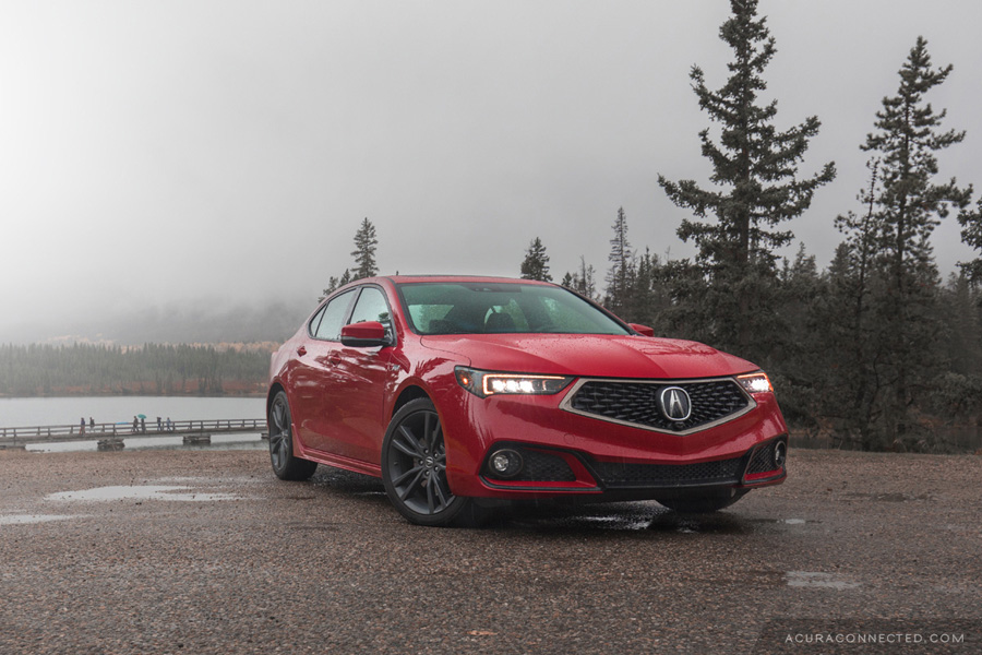 2018 Acura TLX in Jasper, Alberta - Pyramid Lake