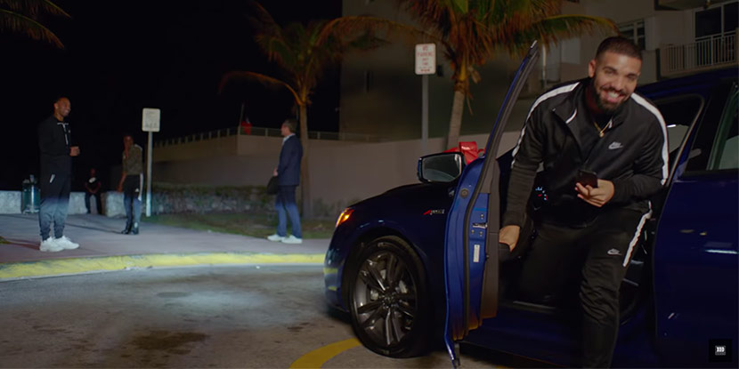 Video: Drake Gives Away Acura TLXs in 'God's Plan' Video