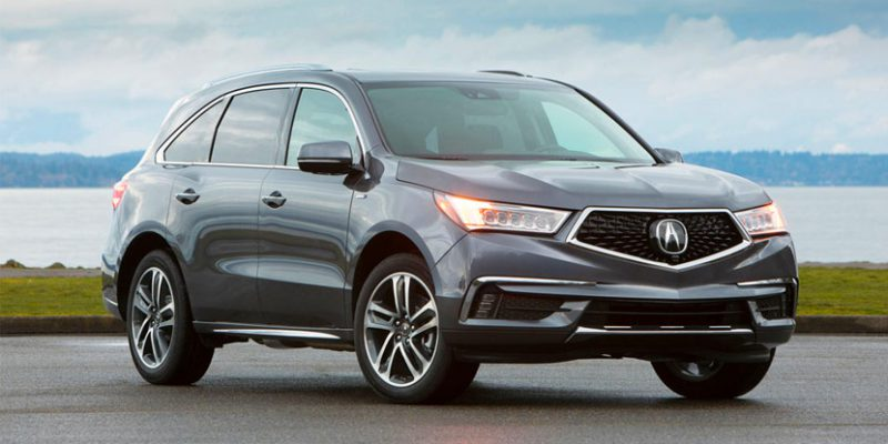 2019 Acura MDX Sport Hybrid Hits Showrooms