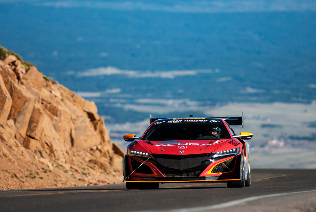 acura at the 2018 pikes peak international hill climb acura connected. Black Bedroom Furniture Sets. Home Design Ideas