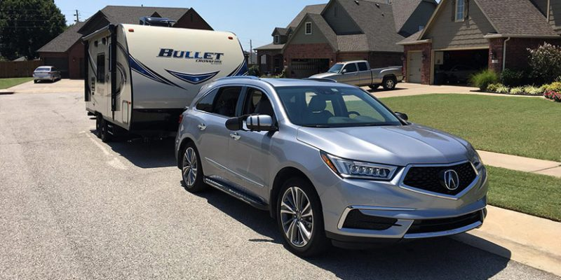 Towing with the Third Generation Acura MDX