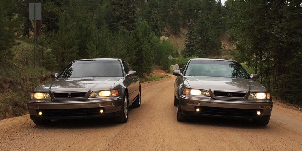 Chris Miller and Tyson Hugie's 1994 Acura Legends
