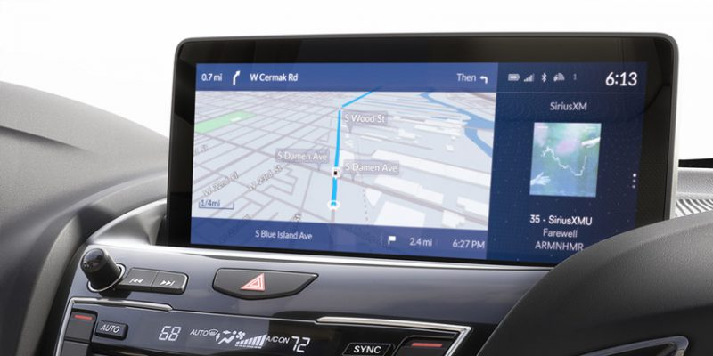 Acura's New True Touchpad Interface