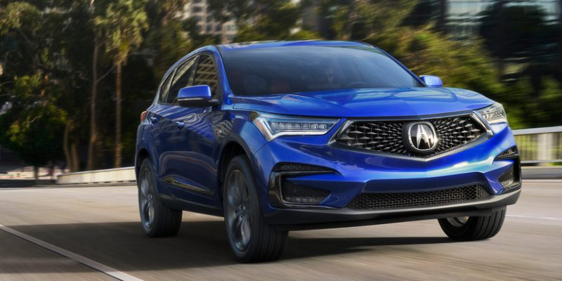 2019 Acura RDX Earns Highest Possible 2019 Safety Award from IIHS