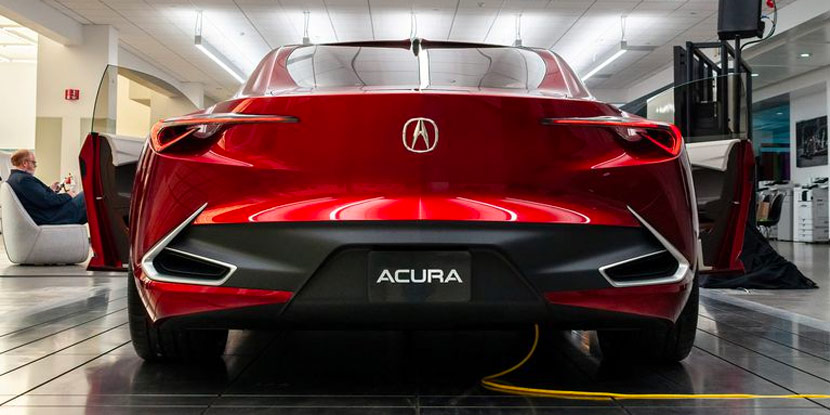 Production-Ready Acura Sedan Concept Debuting this Summer?