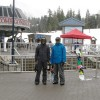 Kevin and Chris at Whistler Village