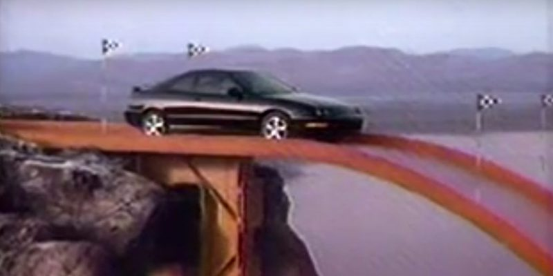 "1994 Acura Integra Commercial ""Not Since Hot Wheels"""