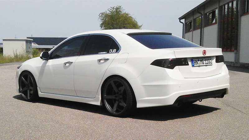 Mischa's Acura TSX Conversion in Germany – Acura Connected