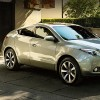 2013 Acura ZDX in Palladium Metallic