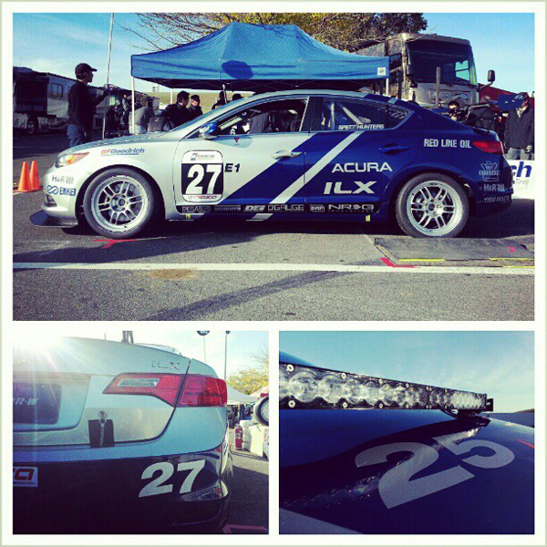 Acura ILX Endurance Racers At The 25 Hours Of Thunderhill