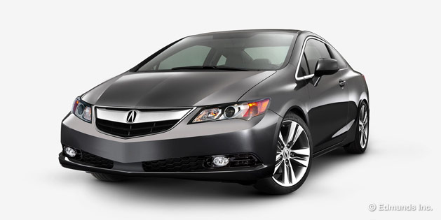 2015 Acura ILX Coupe Rendered - Courtesy Edmunds.com, Inc.